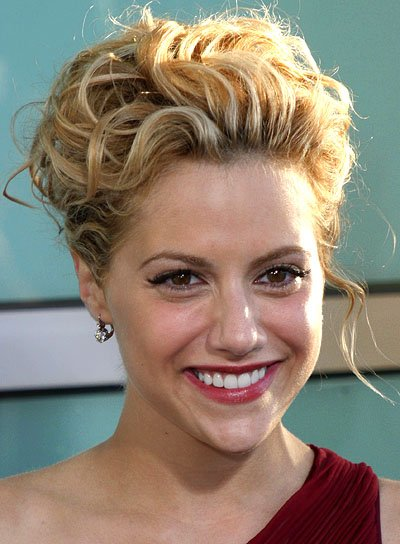 short curly hair updo styles curly updos riot 3389 | file 3565 brittany murphy curly updo