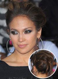 Jennifer Lopez Hairstyles Updo