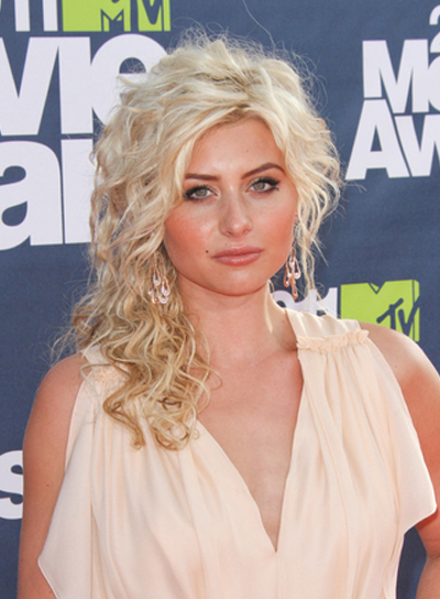 hair style how to make medium half updos for prom riot 4949 | file 4949 alyson michalka medium curly half updo prom blonde