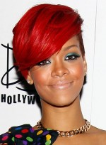 Short, Edgy, Red Hairstyles