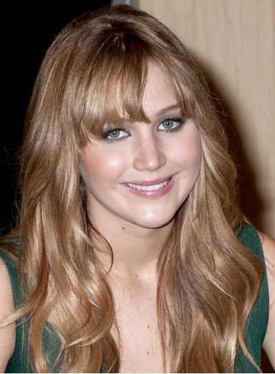 hair styles curly hair file 5576 jennifer lawrence long tousled wavy brunette 5192