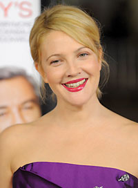 Clothes for Blondes Drew Barrymore