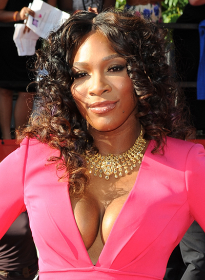 serena williams new hair style curly hairstyles for shaped faces riot 8583