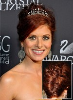 Red, Wedding Hairstyles