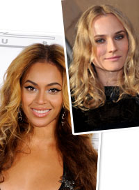 Summer Hair Trend Diane Kruger Beyonce Knowles