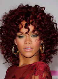 rihanna party makeup