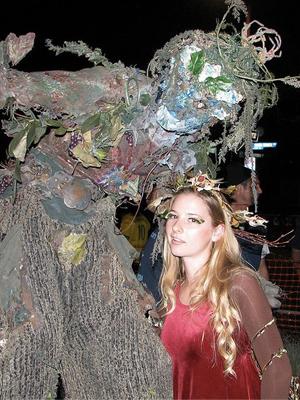 halloween costume 2011 woodland fairy