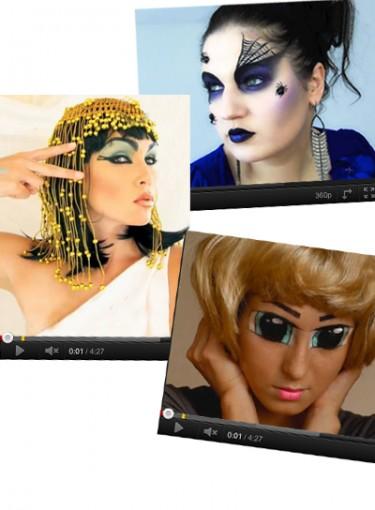 Best Halloween Makeup How-Tos