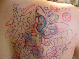 bad tattoos shoulder
