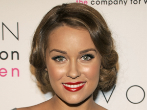lauren conrad retro hairstyle
