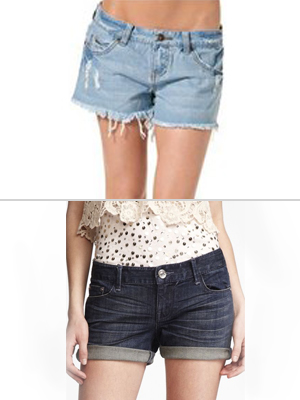 best cheap jean shorts