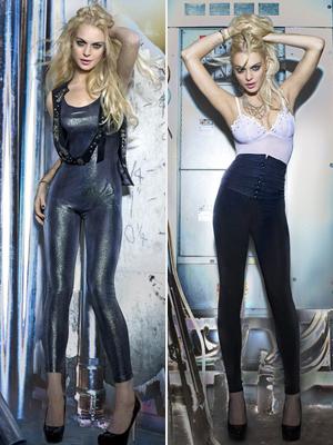 Lindsay Lohan's bad celebrity fashion clothing line 6126