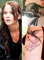 12 'Hunger Games' Tattoos