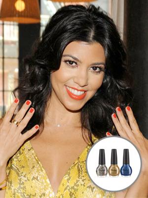 khloe kardashian OPI nail polish