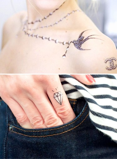 Fake Tattoos: Not Just for Kids