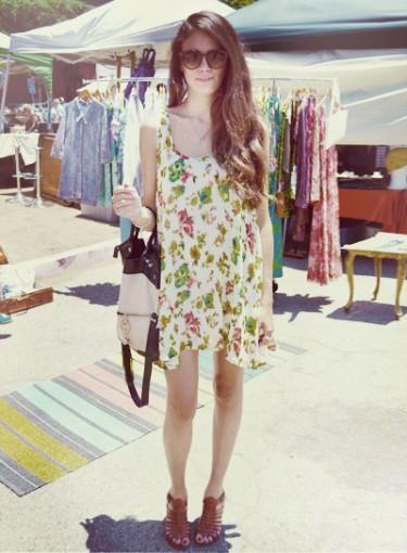 Street Style: L.A. Flea Market