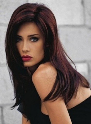 Dark hair with red highlights beauty riot dark hair with red highlights pmusecretfo Gallery