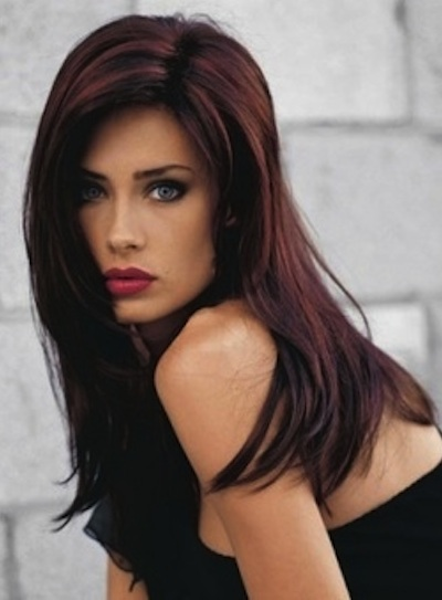 Dark hair with red highlights beauty riot pmusecretfo Choice Image