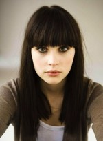Long Hair Styles with Side Bangs