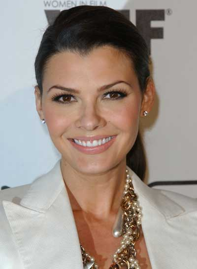 Ali Landry Chic, Straight, Brunette Ponytail
