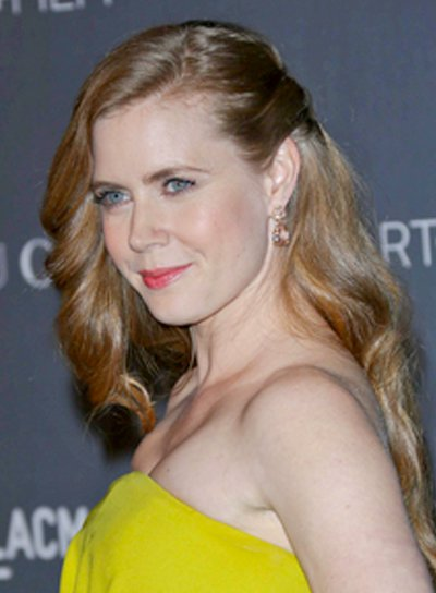 Amy Adams' Long, Blonde, Wavy, Romantic Hairstyle
