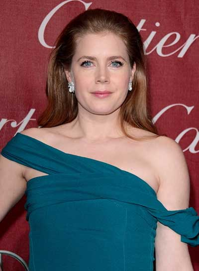Amy Adams Straight, Red Hairstyle