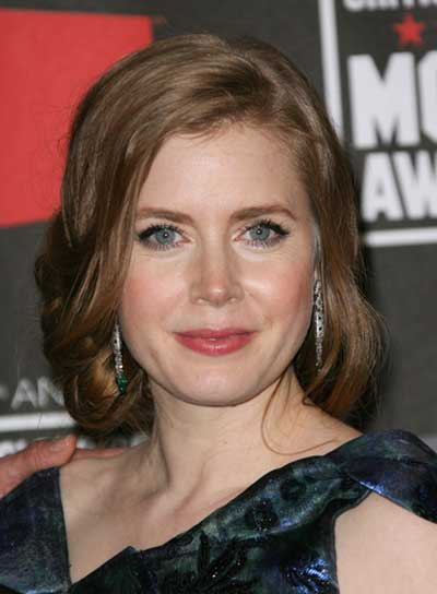 Amy Adams Romantic, Red Updo