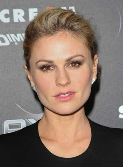 Anna Paquin Sexy, Blonde Updo
