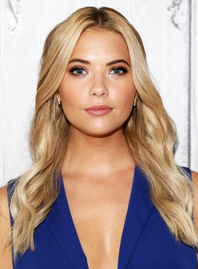 Ashley Benson's Long, Blonde, Wavy, Sophisticated, Sexy Hairstyle