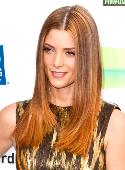 Ashley Greene's Long, Chic, Straight, Layered Hairstyle