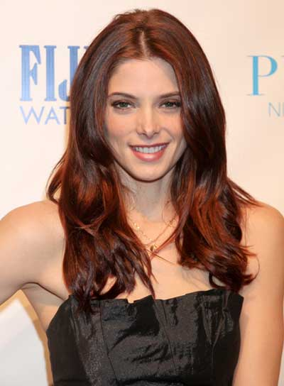 Ashley Greene Long, Sophisticated, Brunette Hairstyle