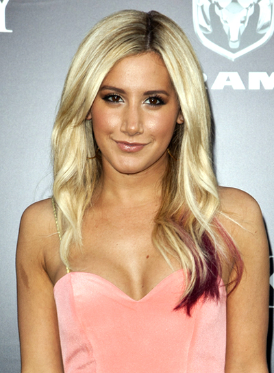 Ashley Tisdale's Long, Curly, Sexy, Wavy Hairstyle