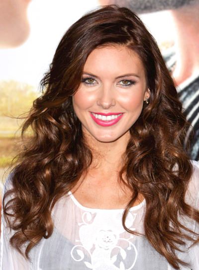 Audrina Patridge's Long, Curly, Sexy, Party Hairstyle