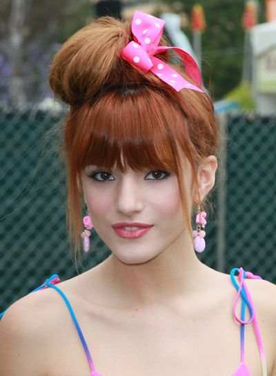 Updo Party Hairstyles : Red hairstyles for parties beauty riot