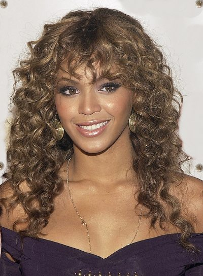 Terrific Long Curly Hairstyles With Bangs Beauty Riot Hairstyle Inspiration Daily Dogsangcom