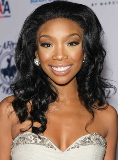 Brandy Long, Curly, Romantic, Black Hairstyle