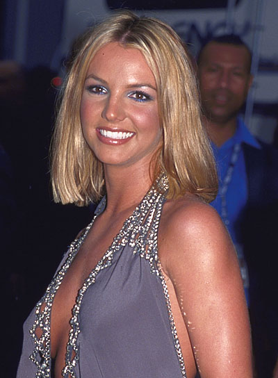 Britney Spears Blonde, Blunt Bob