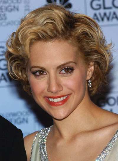 Brittany Murphy Short, Wavy Hairstyle