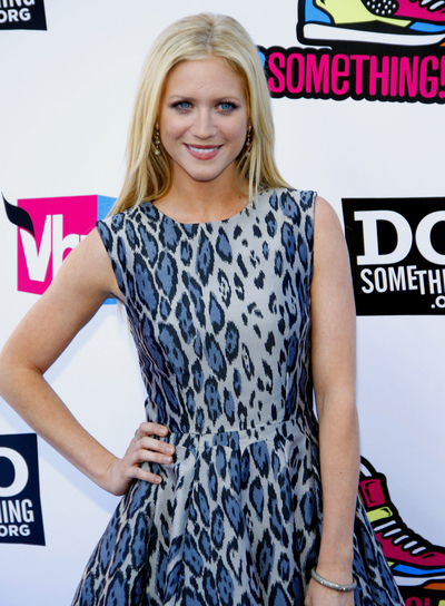 Brittany Snow Long, Straight, Blonde Hairstyle