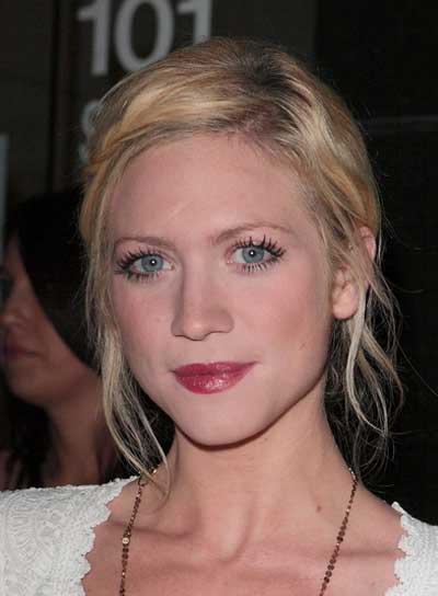 Brittany Snow Romantic, Blonde, Chic, Prom Updo