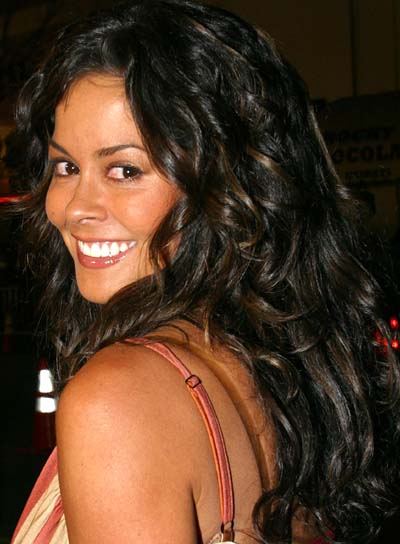 Brooke Burke Long, Curly Hairstyle
