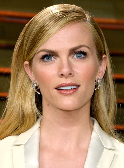 Brooklyn Decker Sophisticated, Long, Straight, Blonde Hairstyle Pictures