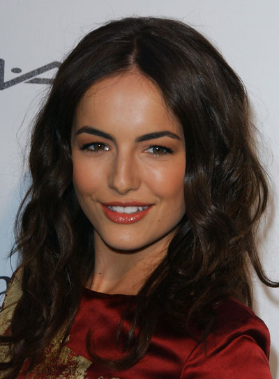 Camilla Belle Long, Wavy, Tousled Hairstyle