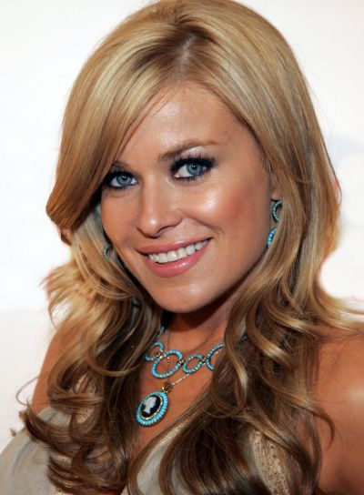 Carmen Electra Sexy, Long, Curly Hairstyle
