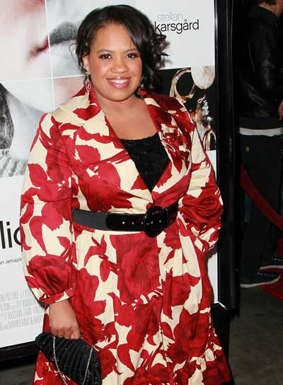Chandra Wilson Tousled, Curly, Romantic, Black Hairstyle