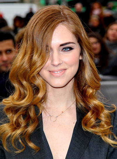 Chiara Ferragni's Long, Curly, Romantic, Chic Hairstyle