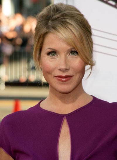 Christina Applegate Sophisticated, Blonde Updo