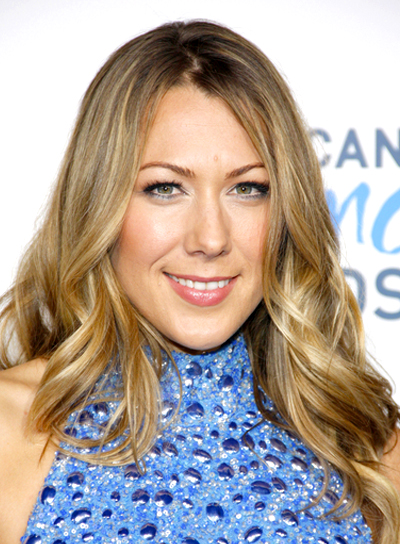 Colbie Caillat's Long, Wavy, Romantic Hairstyle with Highlights