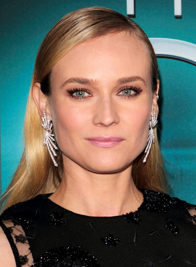 Diane Kruger's Blonde, Long, Chic, Formal Hairstyle