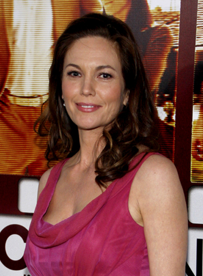 Diane Lane Curly Tousled, Romantic, Prom, Brunette Hairstyle